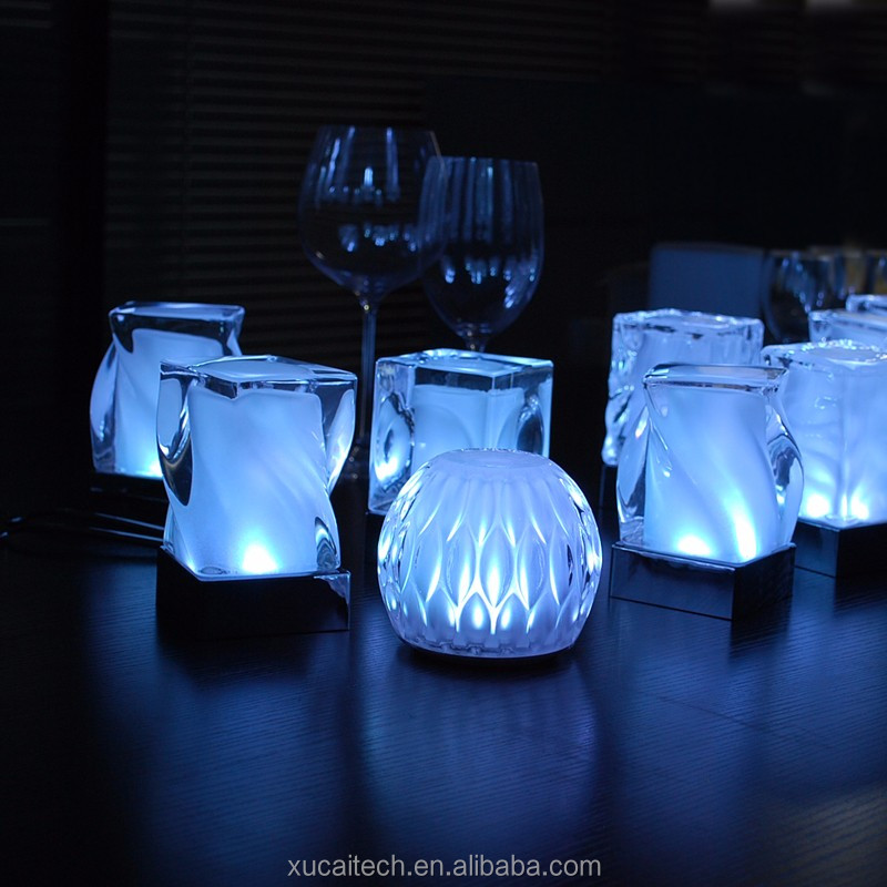 Energy Saving Most Popular Home Goods Crystal Bedside Table Lamp