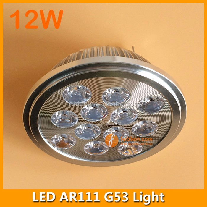 12W led recessed ceiling spotlight AR111 Grid light