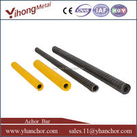 stabilization hollow injection coal mine roof bolt