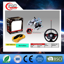 wholesale alibaba hot sale intelligent creative toys multifunctional rc stunt car for kids