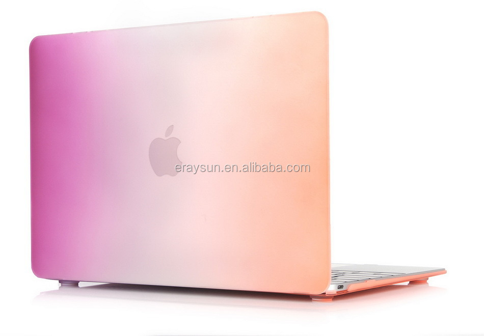 Rainbow Plastic Hard Laptop Shell Case Cover for Apple Macbook Air 11.6 Air 13.3
