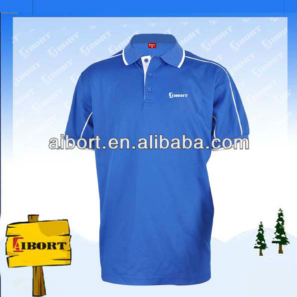 100% polyester top fabric polo shirts