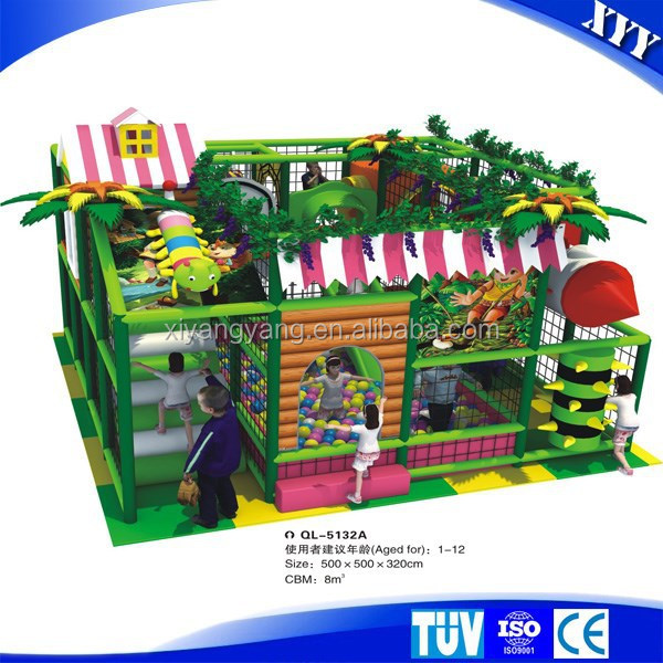 2015 kids small playground indoor play area for sale