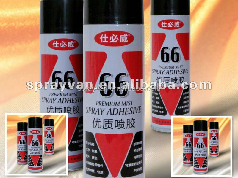 66# temporary embroidery spray adhesive/factory sells directly
