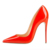 14 years manufacturer shoes wholesale high quality 13cm pencil heel leather upper transparent shoes for lady