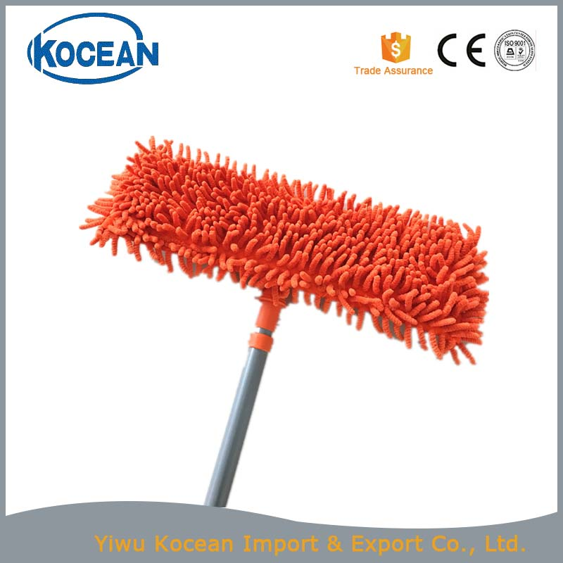 Microfiber floor cleaning flat mop
