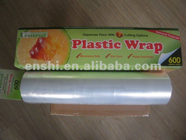plastic wrap for food packaging