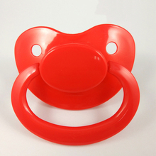2017 Hot Big Red nipples/Silicone baby nipple / Funny adult pacifier