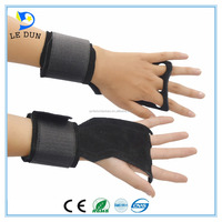 Leather xxxl weight lifting gloves and fitness gloves wholesale