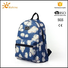 High quality waterproof material polyester backpack bag sublimation