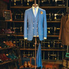 Top Grade Men Wool Fabric Suit