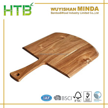 Rectangle Cheese Bread Paddle Board All Natural Acacia Wooden Pizza Paddle