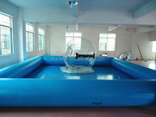 PVC tarpaulin inflatable swimming pools and ball