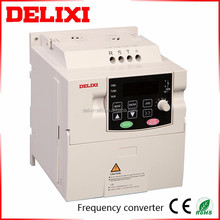 DELIXI general type vector frequency inverter single phase motor