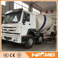 Chinese 10 wheelers concrete mixer truck hot sale in africa