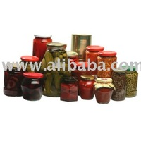 Canned Food (Vegetables, Mushrooms, Ready Meals, Compotes)
