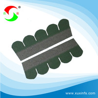 colorful asphalt shingles fish scal waterproofing roofing material