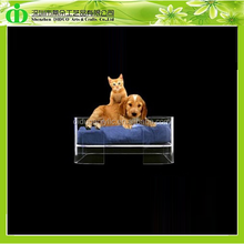 DDT-D009 Square Lucite Pet Bed for Dog and Cat