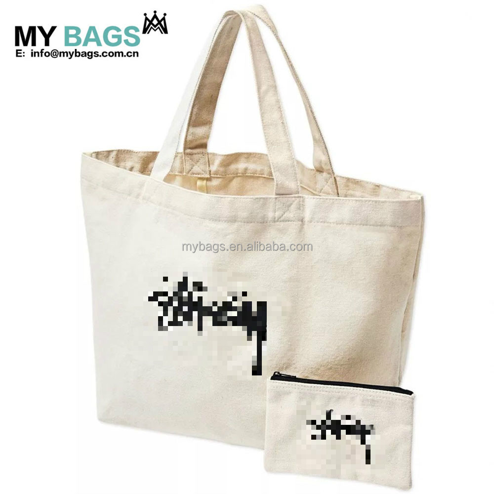 wholesale recycle shopping promotional blank organic logo digital printed cotton canvas bag for customizing