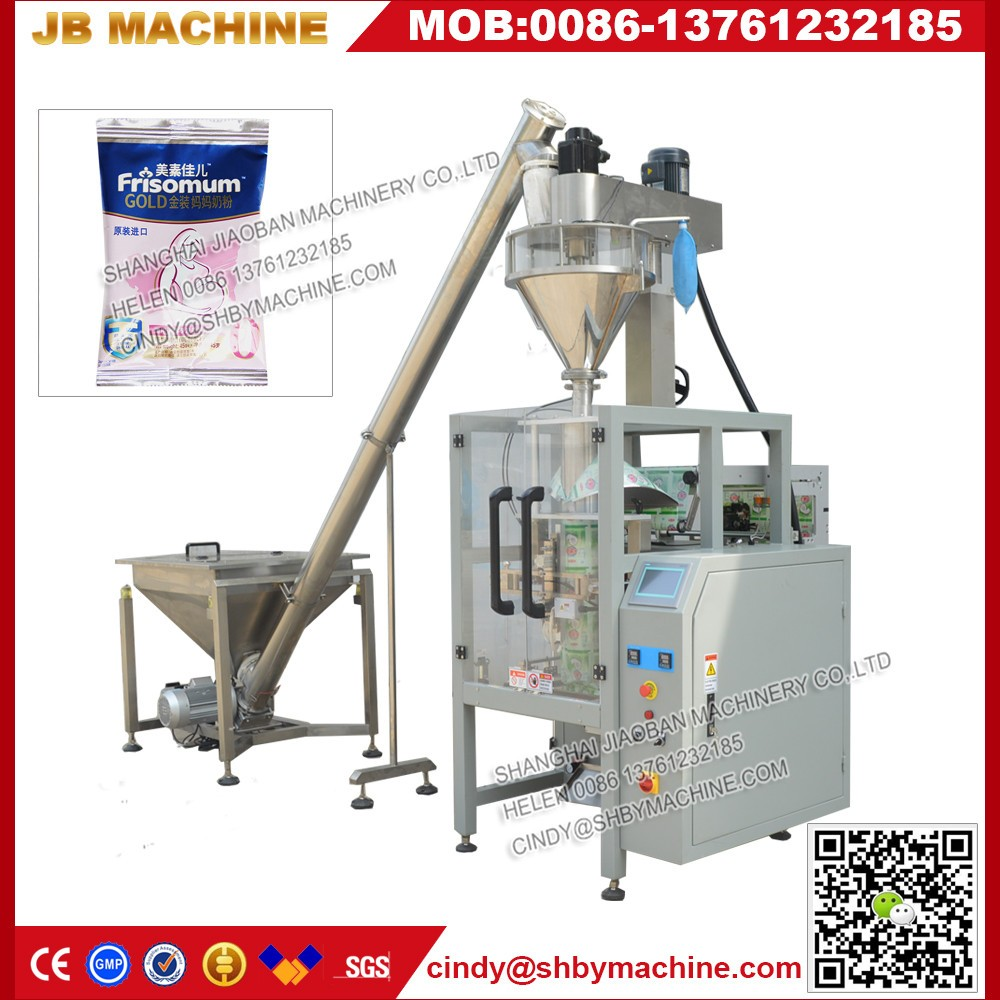 Fully automatic Laundry Powder Packaging Machine with Auger filler