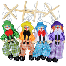 Creative toys 25cm mention pull puppet doll string toy clown costume