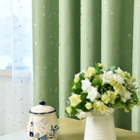Fashion design hot sale plain suede embossed blackout fabric curtain