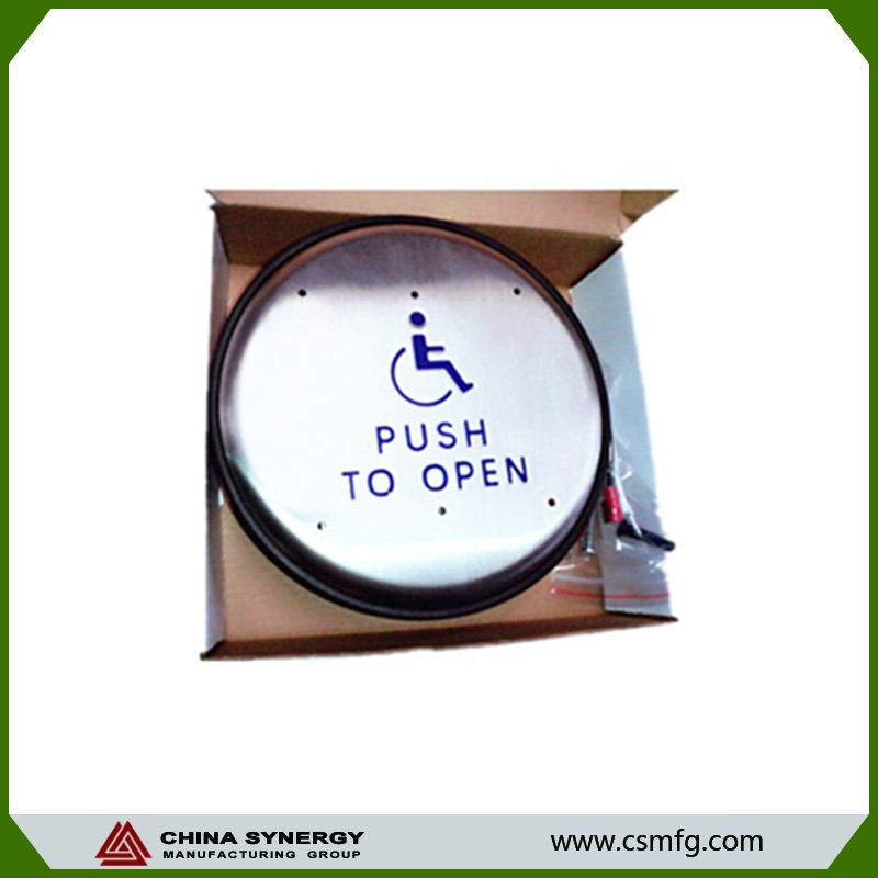 Auto-door switch for disabled
