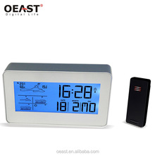 Cheap Led Digital Household Rf 433Mhz Wireless Weather Station Clock
