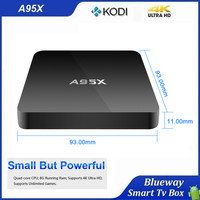 China Factory Direct Sale Best Free Codi App Installed Support 4K HD Video Android Smart TV Box