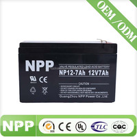 12 volt 12v7ah sealed lead acid agm rechargeable battery for kid toys