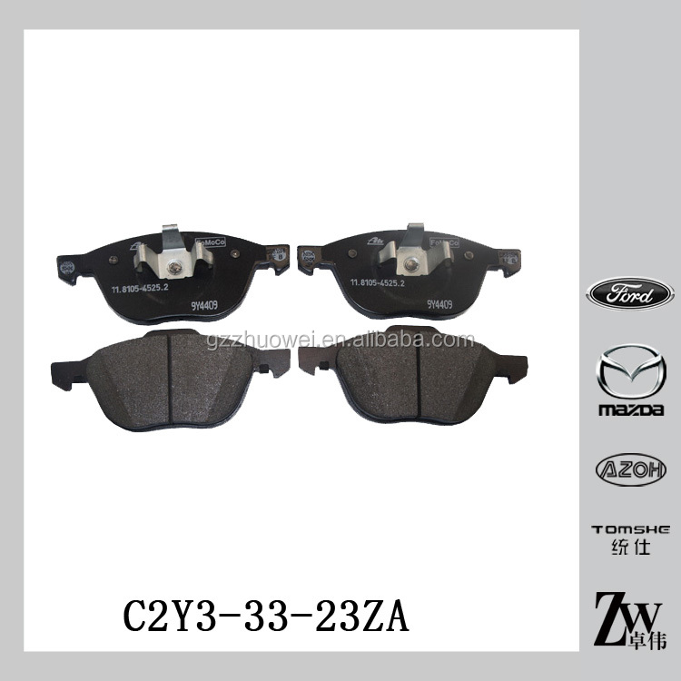 ATE Brake System Wholesale Brake Pad Technical Brake Pad Manufacturers For Mazda M3 BK M5 CR C2Y3-33-23ZA