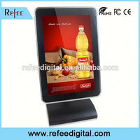 Android touch display, restaurant lcd display, network transparent oled screen