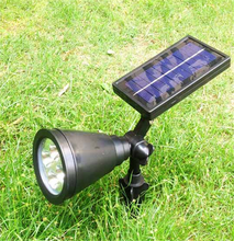 New Arrival Led Solar Light Outdoor Solar Power Spotlight 1W Garden Lawn Lamp Landscape Spot Lights
