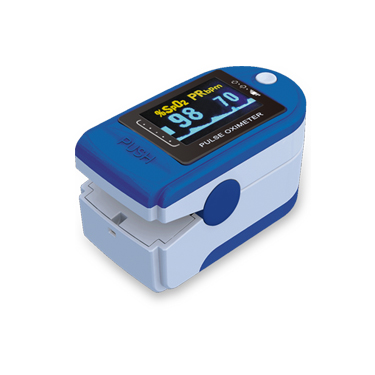 CMS50D CONTEC New pulse oximeter with lanyard SPO2 PR PI oximetro de pulso digital