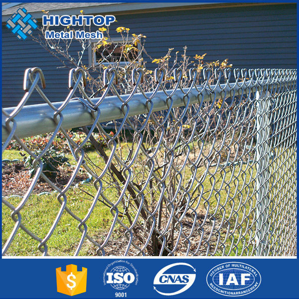 China hot sale Green PVC Coated Chain Link Fence Netting/Galvanized Chain Link Fence15-year FACTORY