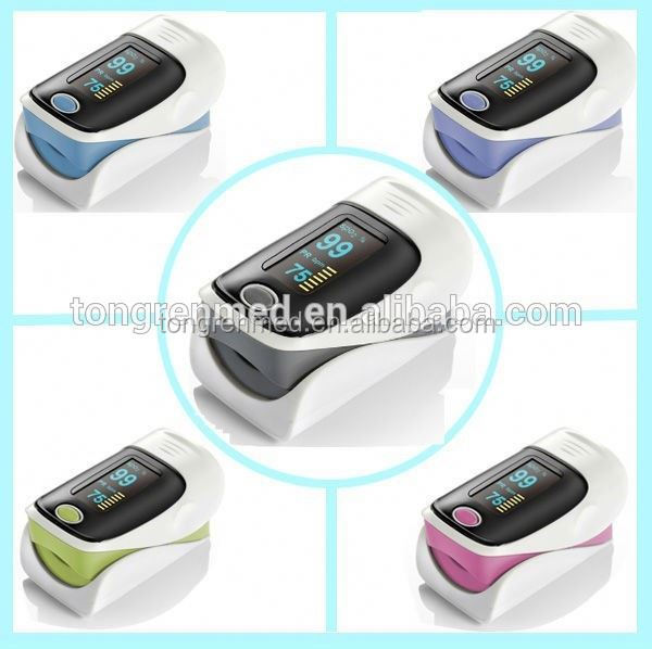 LED Fingertip Pulse Oximeter SPO2 oxymeter FREE CASE Finger Pulse Oximeter CE FDA Certified Manufacturer
