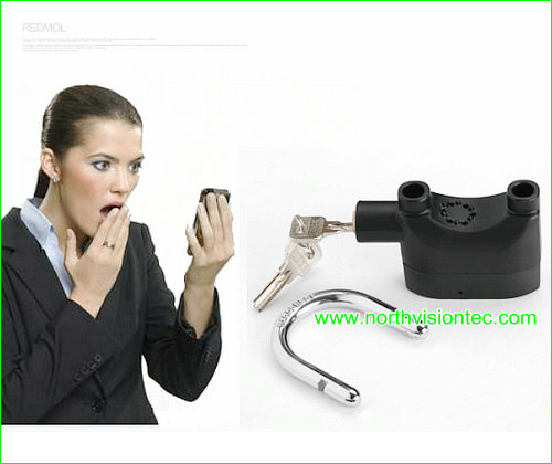 remote motorcycle alarm lock with remote gsm mms alarm