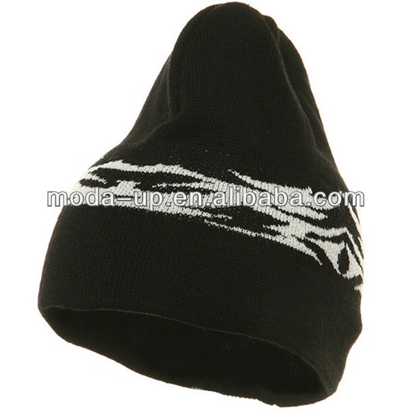 Fashion knitted winter tribal hat