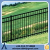 Anping factory wrought iron short fence/wrought iron fencing supplies/wrought iron fence