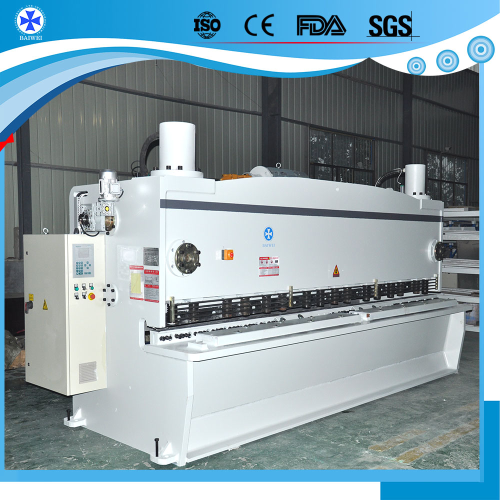 metal cutting tools hydraulic steel plate shears machine