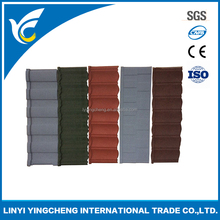high quality selling well beautiful and colorful metal tile roof price