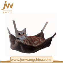 China Wholesale berber Fleece Cat Bed Cage Small Pet Hang On Hammock wing bed