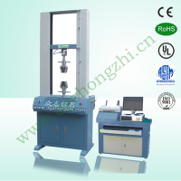 Servo control leather tensile strength test machine