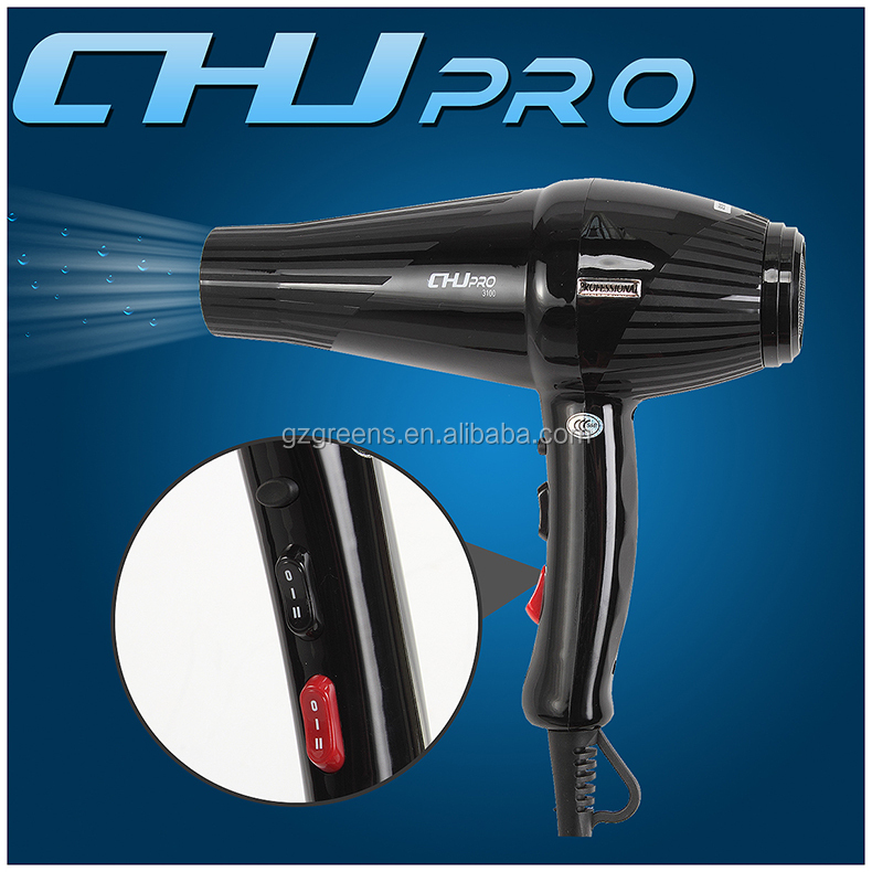 CHJ HIGH TEMPERATURE TOP QUALITY HAIR DRYER WIT COOL SHOT FUNCTION