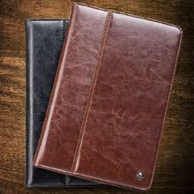 QIALINO Cute Design For Ipad Air Genuine Leather Case