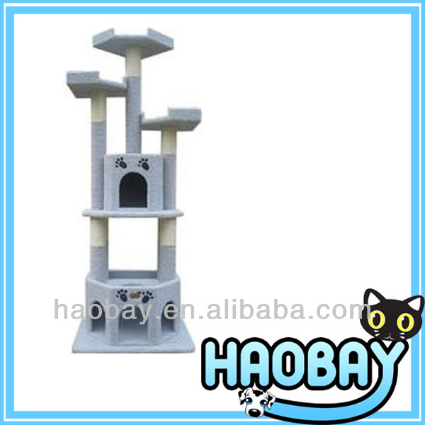 Luxury Cat Mansion Cat Scratching Tree Furniture Cat Toy