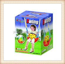 2014 new item children outdoor plastic game wholesale kids swing toy
