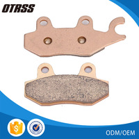 Stable friction properties copper sintered metal front brake pads