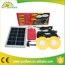 Green and high enery solar system with USB chareg for mobile phones and rechargeable by solar& AD/DC adaptor