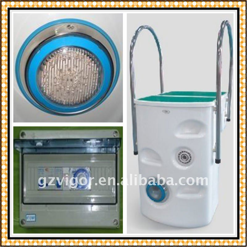 Swimming pool equipments for filtration system,integrated pool filtration facility(vigor company)